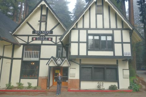 The Rio Nido Lodge in Guerneville just 30 minutes from Sonoma Coast
