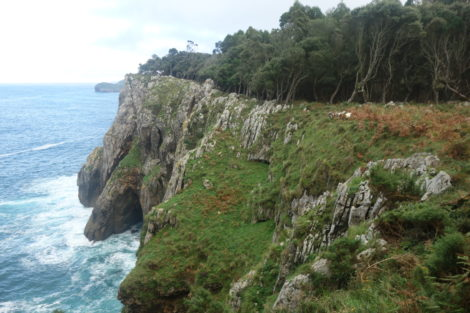 Asturias coastal hiking
